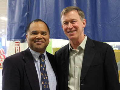 DH2i CEO Don Boxley & Colorado Governor John Hickenlooper